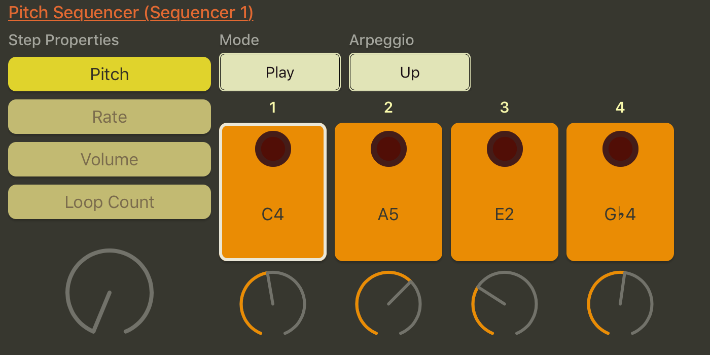 Pitch sequencer.