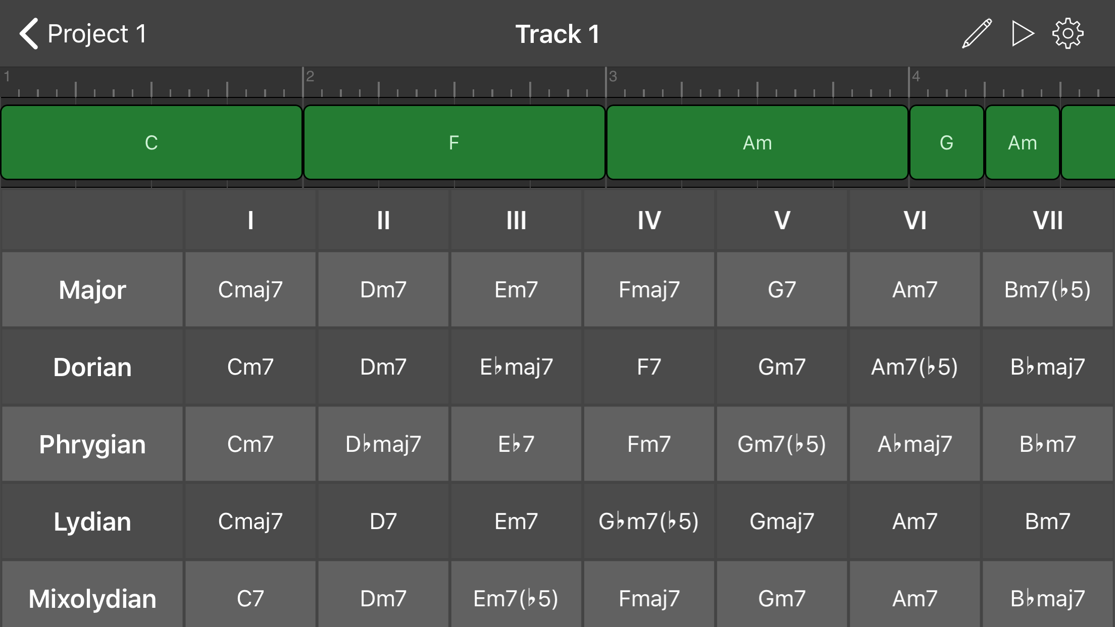Connect your MIDI instrument.