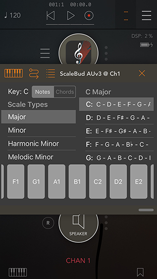 Interval sequencer.